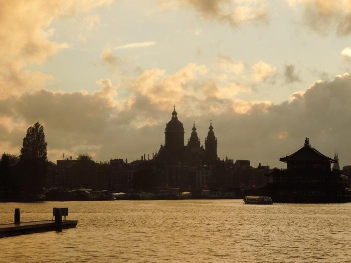 【オランダ02】見どころ盛りだくさんな水の都アムステルダム街歩き! (33)