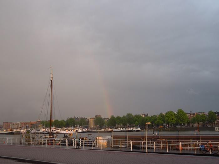 【オランダ02】見どころ盛りだくさんな水の都アムステルダム街歩き! (32)