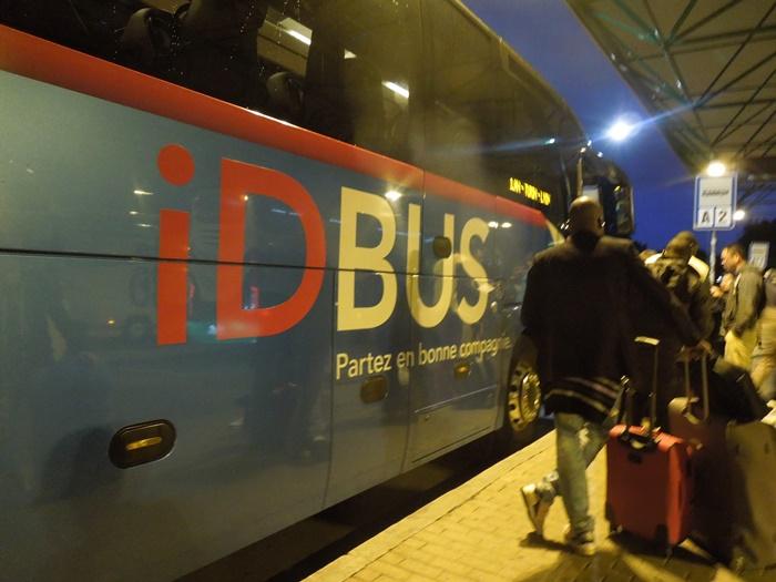 【フランス04】ブリュッセルベルギーからパリフランスへのバス移動情報 (2)