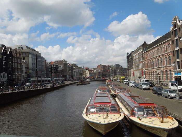 【オランダ02】見どころ盛りだくさんな水の都アムステルダム街歩き! (23)