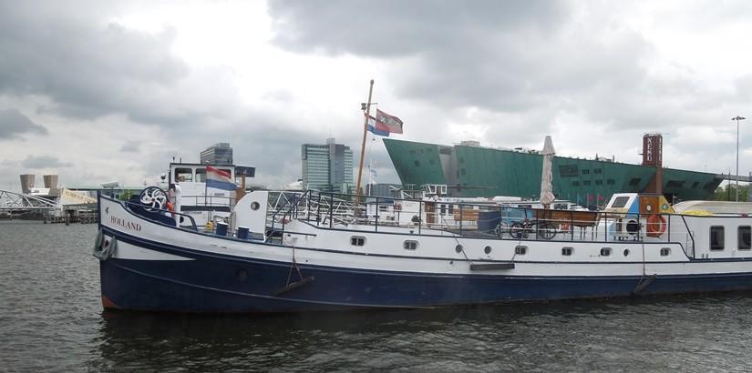 【オランダ05】アムステルダムの安宿情報 おススメは船に泊まれるNoorderzon!
