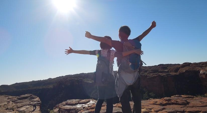 【オーストラリア04】聖なるおへそとデカ頭たちの集まり ウルル・カタジュタ観光