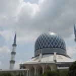 【マレーシア02】クアラルンプール観光2 青とピンクのモスク