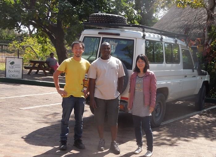 【ジンバブエ01移動情報】カサネ/ボツワナからビクトリアフォールズ/ジンバブエ