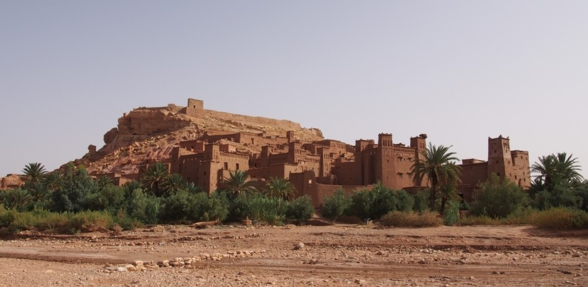【モロッコ08移動・観光情報】ティネリールから世界遺産アイトベンハッドゥへ!