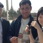【ウズベキスタン13移動情報】ブハラからヒヴァ おまぬけなドライバーの残念なトラブルつき