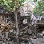 【カンボジア05】シェムリアップNo.1の遺跡はここにあった、アドベンチャー型遺跡ベンメリア