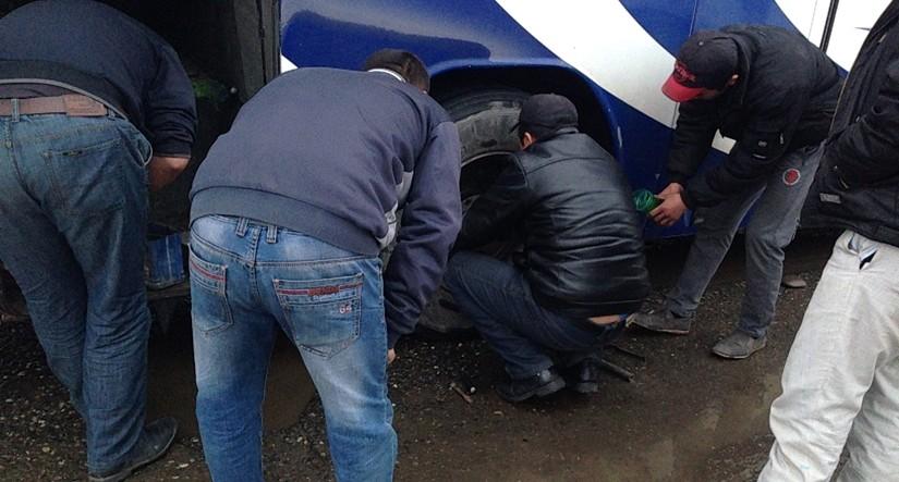 【移動情報】タシュケントからサマルカンド 雪の中のビザ取りとバストラブル