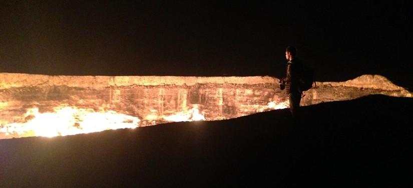 【トルクメニスタン02】遂にやってきた地獄の門 Door to Hell 今までで一番の絶景!