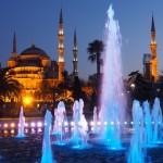 【トルコ03】夜のイスタンブール 眺めの良いレストラン発見!