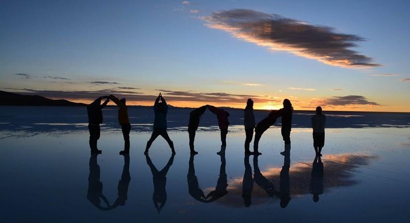 【ボリビア04】鏡張りのウユニ塩湖~この旅を始めた目的の一つ。