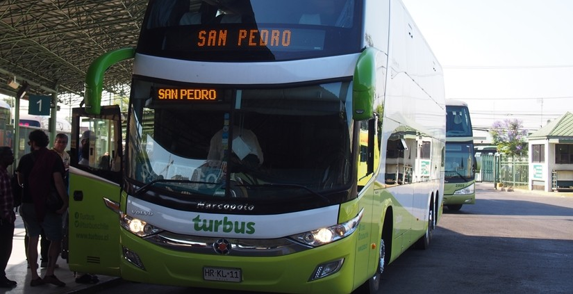 【チリ22 移動&宿情報】サンティアゴからサン・ペドロ・デ・アタカマ