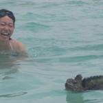 【エクアドル03】世界でここだけ!イグアナと泳げるビーチ。ガラパゴスPart2(サンタクルス島)