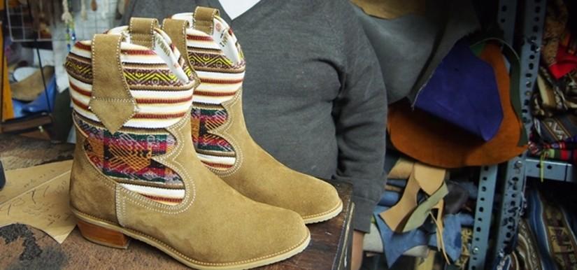 【ペルー14】クスコで自分だけの靴を作ってもらおう! (11)
