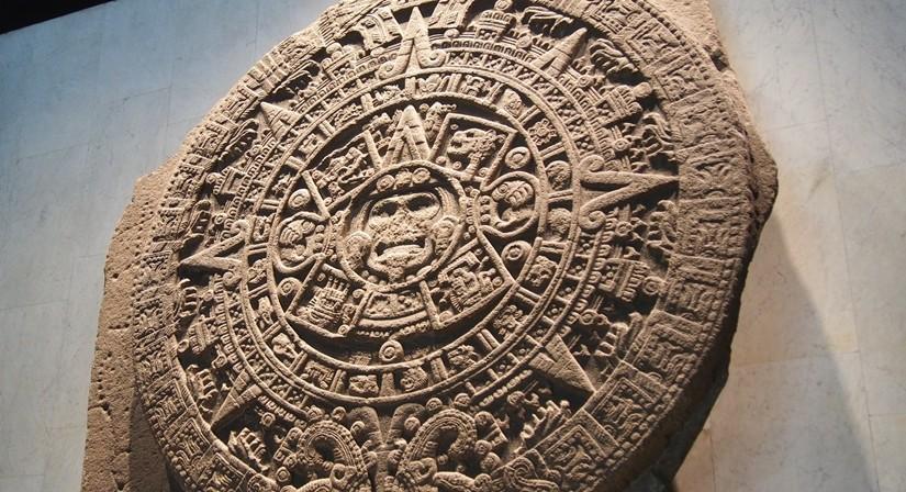 【メキシコ09】人類学博物館でアステカ・カレンダーにご対面!