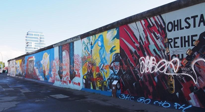 【ドイツ09】冷戦の跡・ベルリンの壁と、個性的なアンペルマン登場!ベルリン観光1