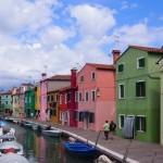 【イタリア17】ヴェネチアへ来たら島巡りもオススメ。カラフル好き必見!ブラーノ島!